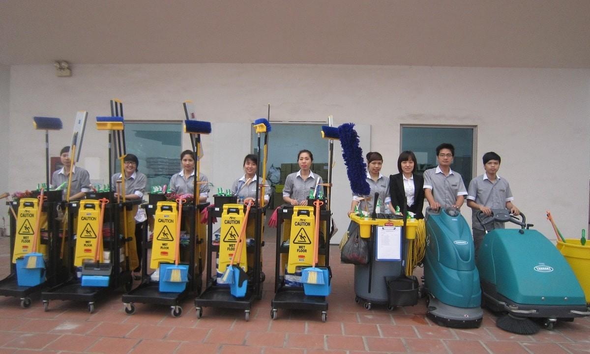 Dịch vụ cung cấp tạp vụ vệ sinh Hải Phòng